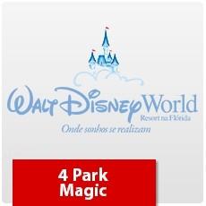 4 Park Magic (Oferta Especial) - Ingresso Eletrônico