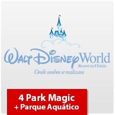 4 Park Magic + Parque Aquático (Oferta Especial) - Ingresso Eletrônico