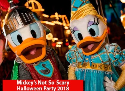 Mickey's Not-So-Scary Halloween Party 2018 - Pré-Venda