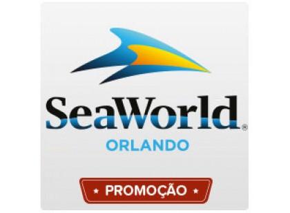 SeaWorld Orlando - Uma visita (Ingresso Voucher Promocional)